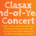 Clasax End of Year Concert